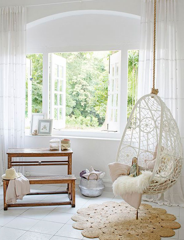 Genial ... 8 Awesomely Beautiful Indoor Swing Chairs | My Cosy Retreat