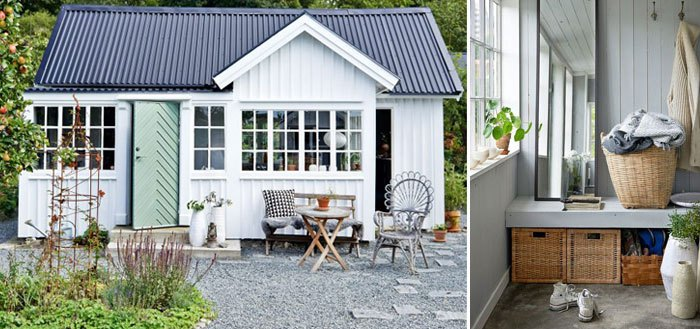 A charming and serene garden cottage in Sweden | My Cosy Retreat