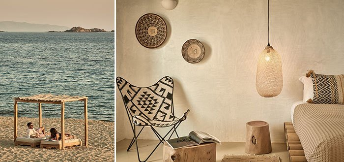 A splendid boho ethnic chic hotel on Naxos Island, Greece | My Cosy Retreat