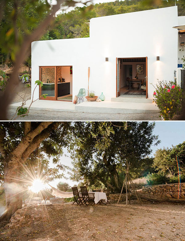 Adorable 45 m2 tiny summer house in Ibiza, Spain | My Cosy Retreat