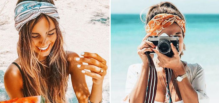 How to wear a headband, headscarf and turban this summer | My Cosy Retreat