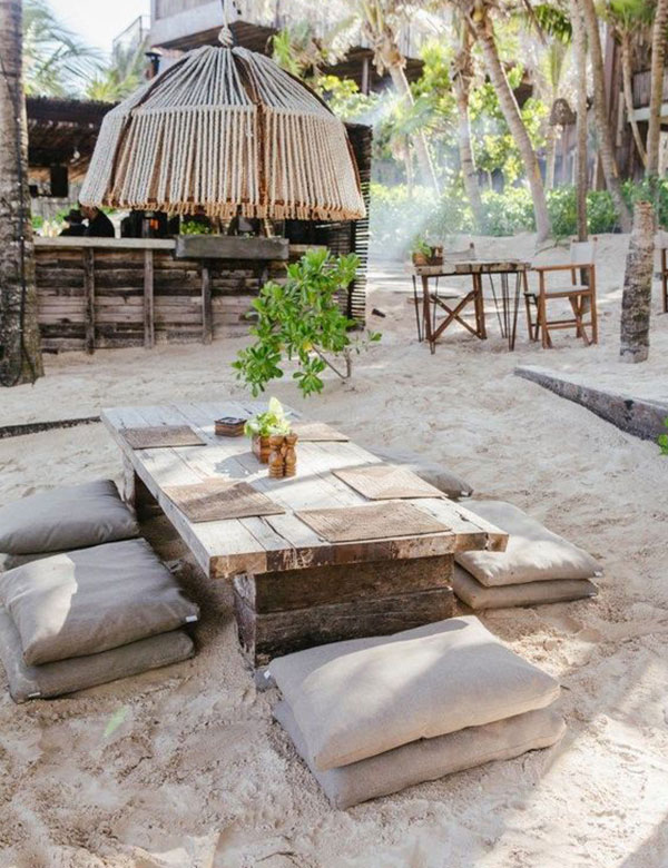 Mexican outdoor decors with gorgeous boho-chic vibes | My Cosy Retreat