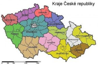 Czech Republic voting constituencies