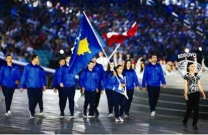 Kosovo Olympic Athletes at Rio 2016.