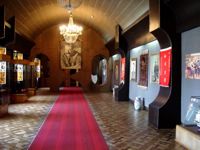 A hall in Gori's Stalin Museum.