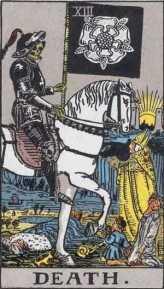 Death, Rider-Waite tarot deck