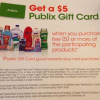 NEW Publix $5 Gift Card offer!!  Check this out!