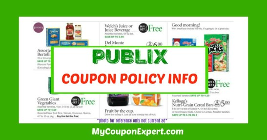 Publix coupon policy changes photo