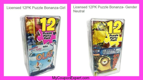 12 pc target puzzle