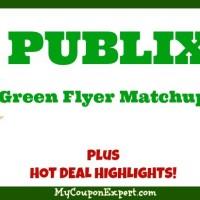 Publix GREEN Flyer Matchups, February 3rd – 16th!