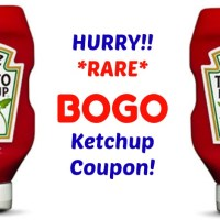 HURRY!!  Print your BOGO Heinz Ketchup Coupon!!!