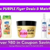 Publix PURPLE FLYER Deals & Matchups April 7th – 20th!
