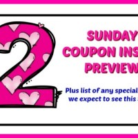 Coupon Insert Preview – Sunday, June 24th
