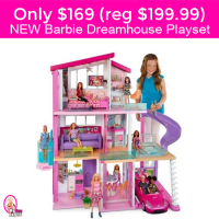 Barbie DreamHouse NEW Playset $169 (reg $199.99) with 70+ accessories!