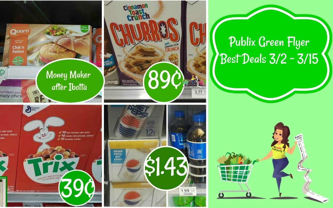 Publix Green Flyer Best Deals 3/2 – 3/15