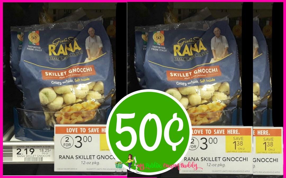 Rana Gnocchi 50¢ at Publix