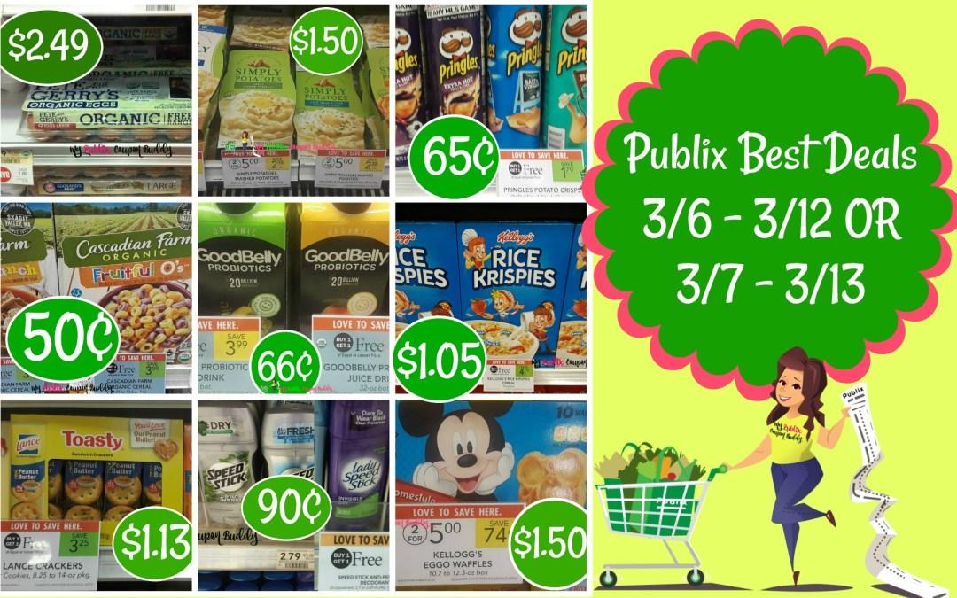 Publix Best Deals 3/6 – 3/12 OR 3/7 – 3/13