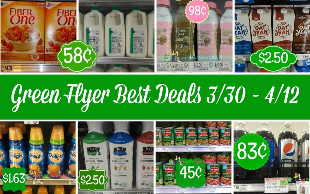 Publix Green Flyer Best Deals 3/30 – 4/12
