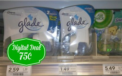 Glade Plug In Warmers 75¢ at Publix