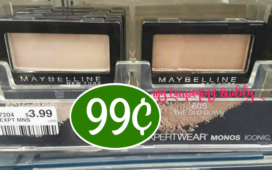 Maybelline Eye Shadow 99¢ at Publix