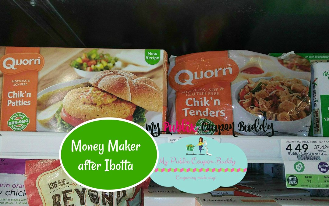 Quorn Meatless Chick'n Free after Ibotta at Publix