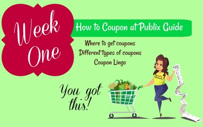 How to Coupon at Publix Week One