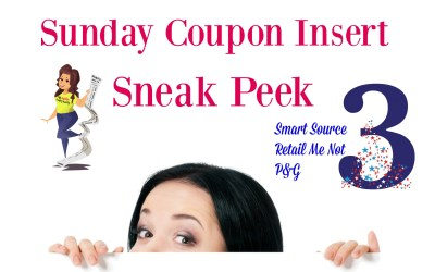 Sunday Coupon Insert Sneak Peek 4/28/19