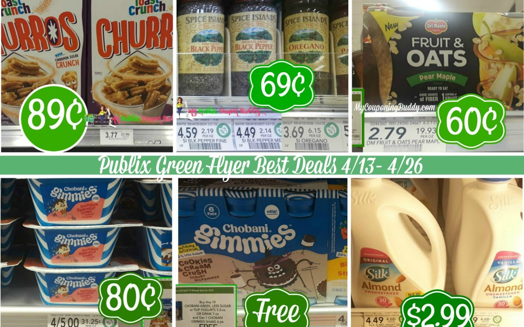 Publix Green Flyer Best Deals 4/13- 4/26