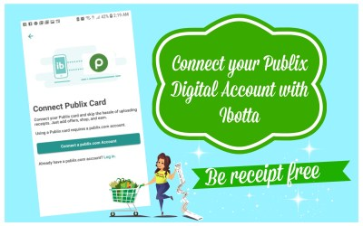 Connect your Publix Digital Account with Ibotta and be Receipt FREE!