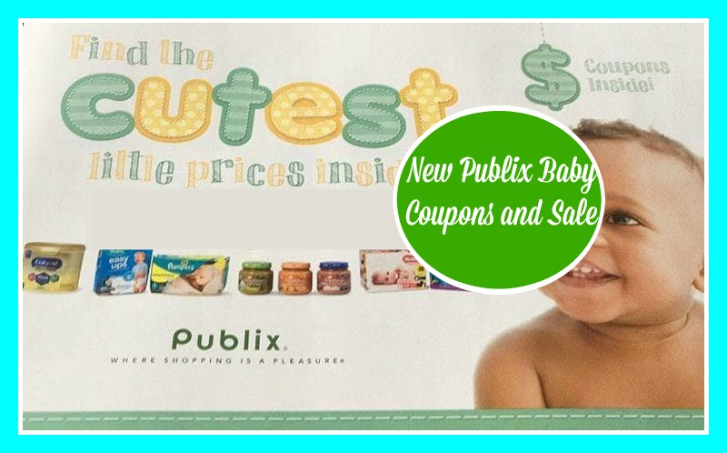New Publix Baby Book w/Sales and Coupons 5/29-6/26