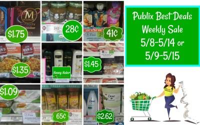 Publix Best Deals Weekly Sale 5/8-5/14 or 5/9-5/15