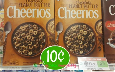 Peanut Butter Cheerios 10¢ at Publix (after Ibotta rebate)