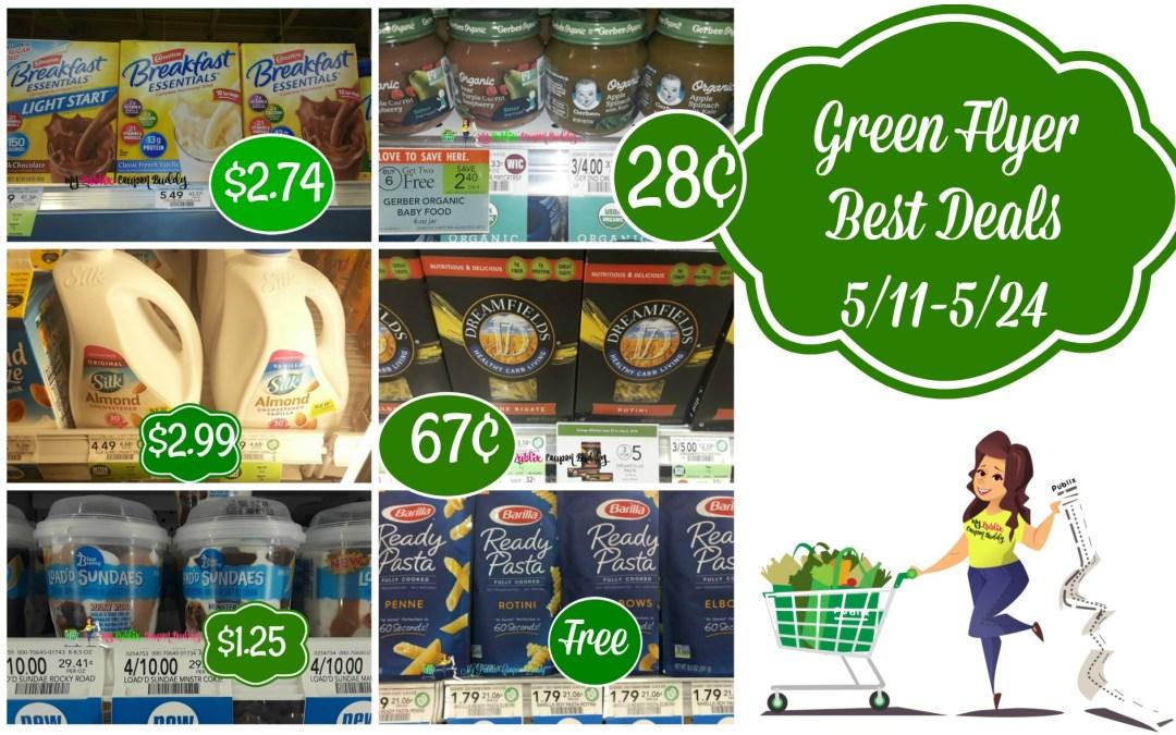 Publix Green Flyer Best Deals 5/11-5/24