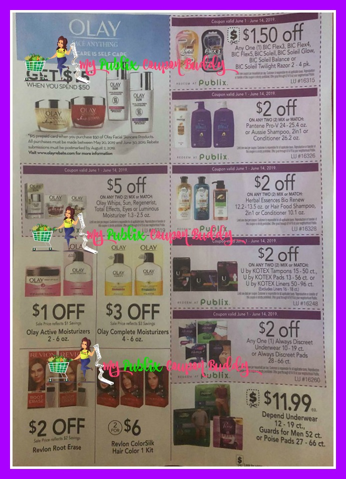 Publix Purple Flyer Full Match Ups and Ad Scan 6/1-6/14   My