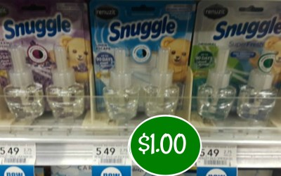 Snuggle Scented Oils $1.00 at Publix