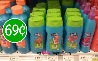 Suave Kids 2in1 69¢ at Publix