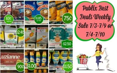 Publix Best Deals Weekly Sale 7/3-7/9 or 7/4-7/10