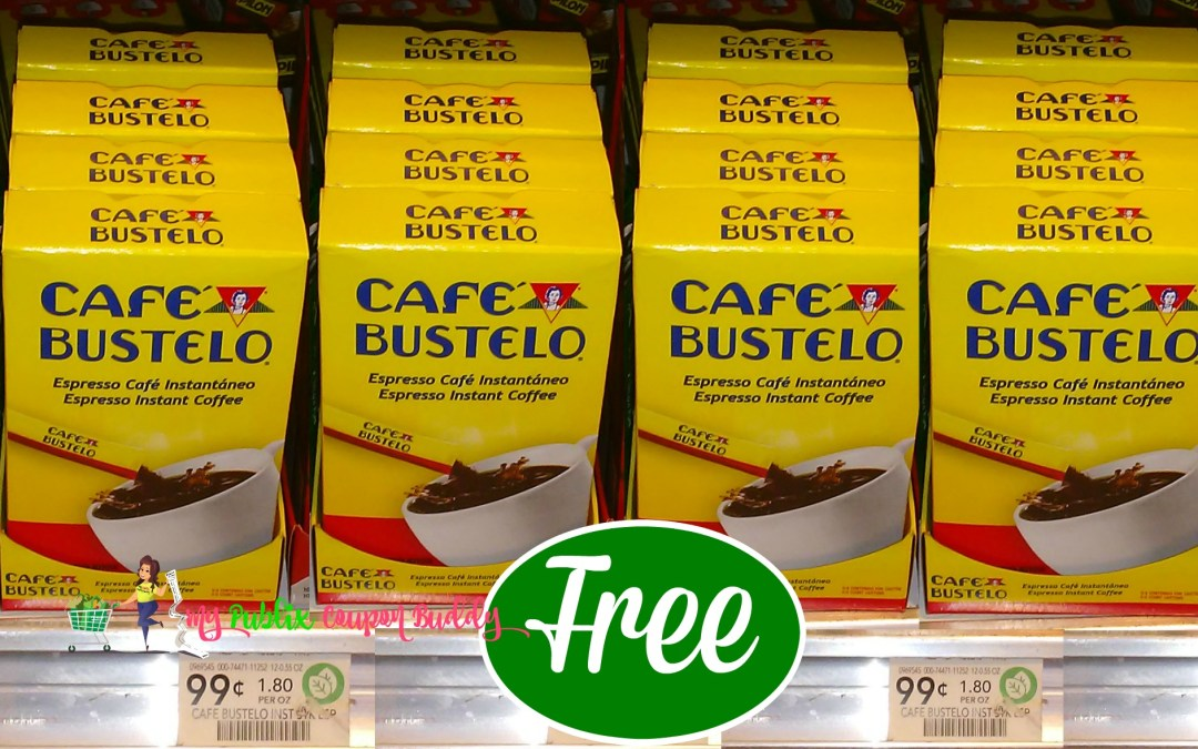 Cafe Bustelo Coffee FREE at Publix