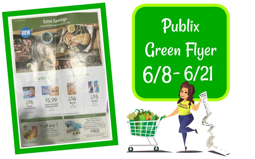 Publix Green Flyer 6/8 – 6/21Full MatchUps and Ad Scan
