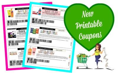 New Printable Coupons ~ Neutrogena, Purina, Kotex and more!