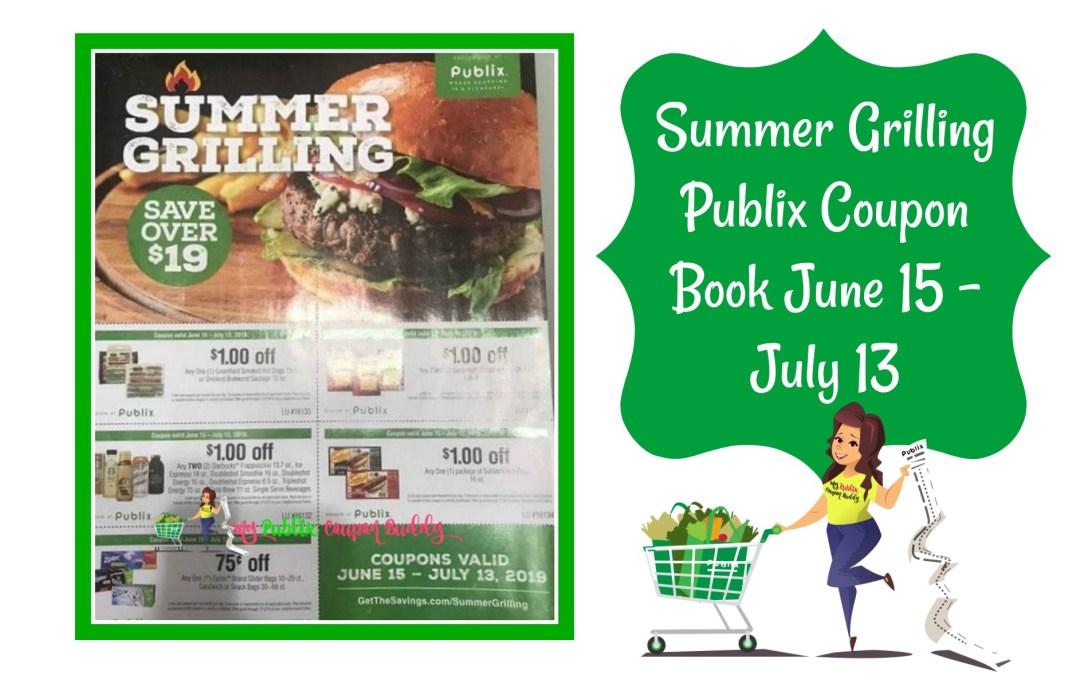 Summer Grilling Publix Coupon Book Match Ups June 15 – July 13