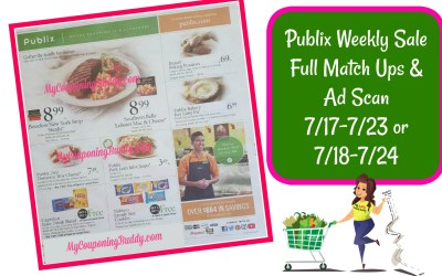 Publix Weekly Sale Full Match Ups & Ad Scan 7/17-7/23 or 7/18-7/24