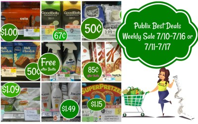 Publix Best Deals Weekly Sale7/10-7/16 or 7/11-7/17