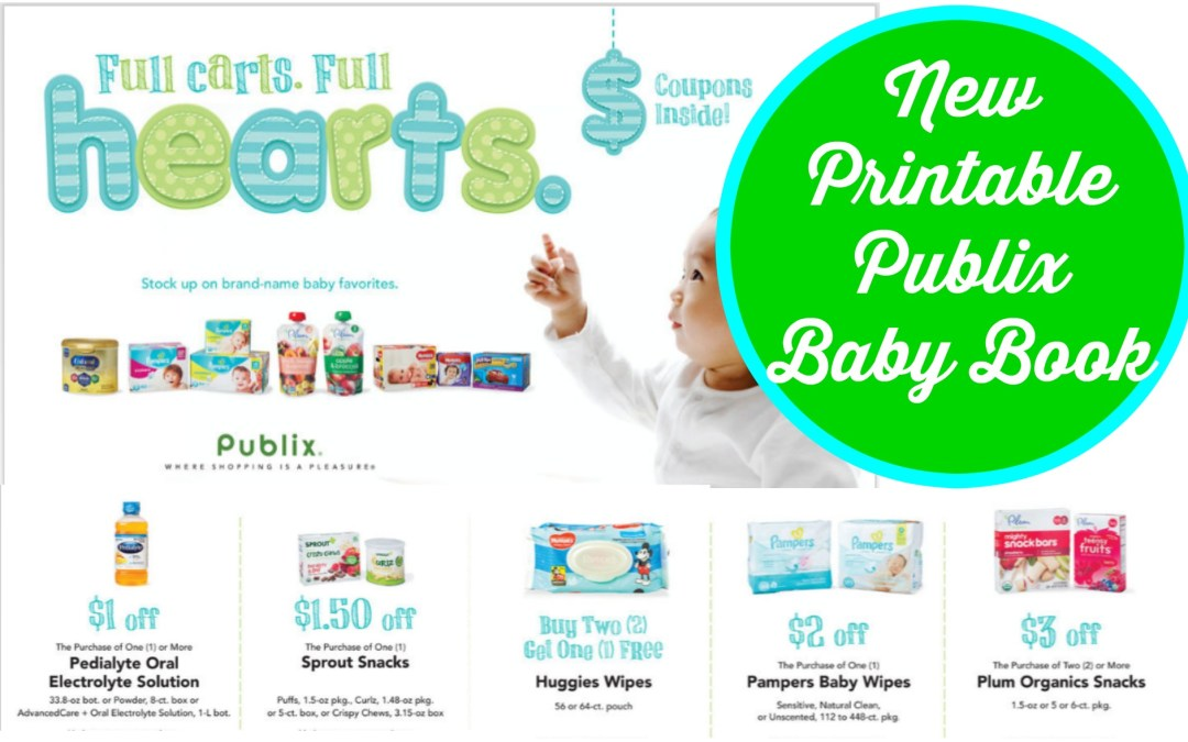 New Printable Publix Baby Book