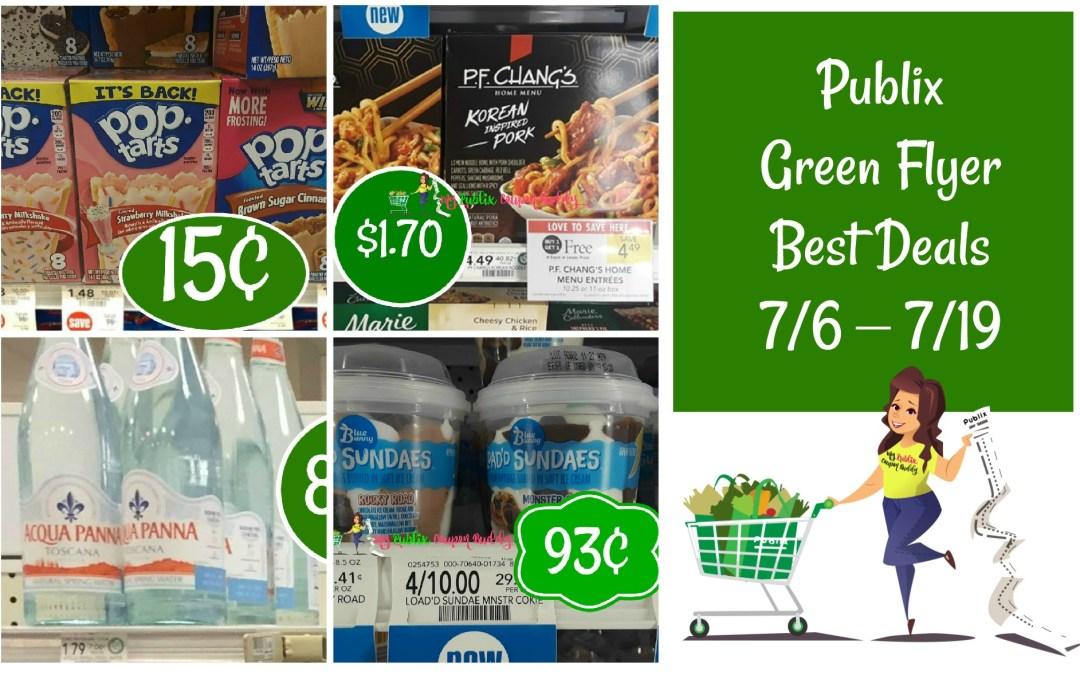 Publix Green Flyer Best Deals 7/6 – 7/19