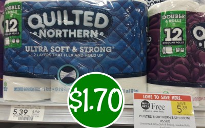 Quilted Northern $1.70 at Publix