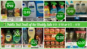 Publix Deals weekly sale 9/4- 9/10 or 9/5 – 9/11