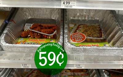 Handi-Foil Pans 59¢ at Publix
