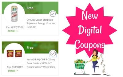 New Freebie Digital Coupons!!!