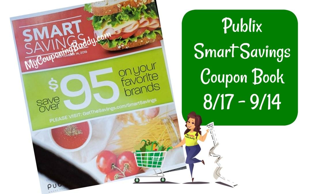 Publix Smart Savings Coupon Book 8/17 – 9/14
